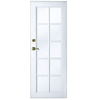 single french door style