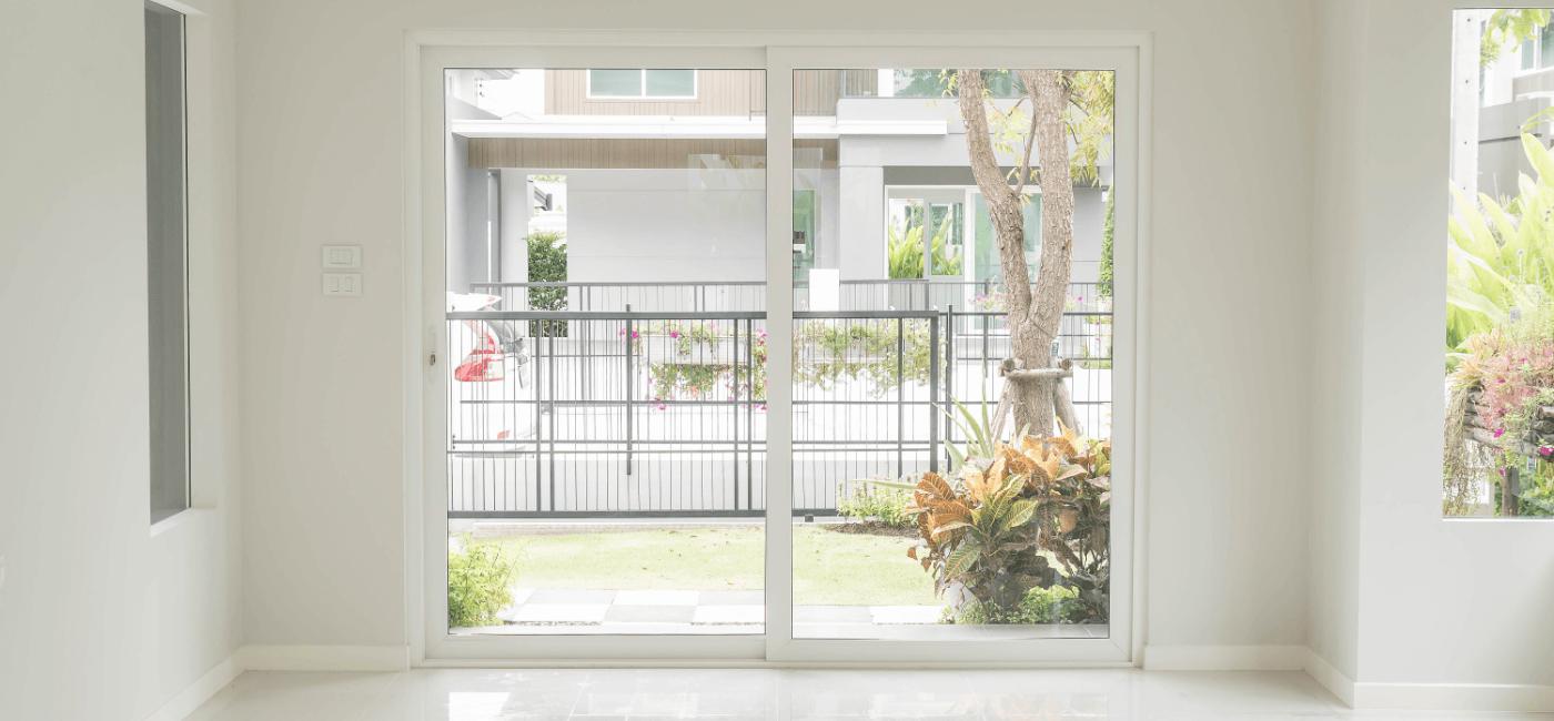 impact window front garden