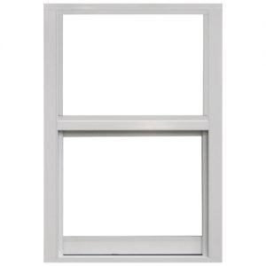 gray fixed architectural window