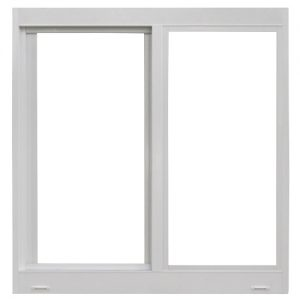 gray horizontal rolling window